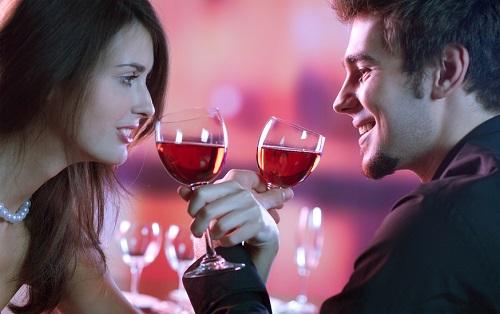 premier rendez-vous romantique